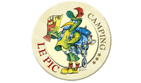 logo camping le pic